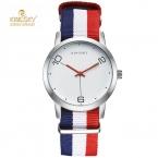 Kingsky роскошные мода нейлон браслет женские часы дамы кварцевые часы женщины наручные часы relogio feminino reloj mujer montre femme