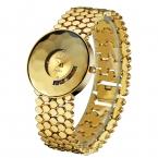 KINGSKY Марка Мода colorfull Алмаз Женщины Девушка Сплава Кварцевые Наручные Часы Водонепроницаемый Золотые Часы бесплатная  Montre Femme