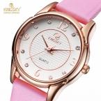 KINGSKY Мода Повседневная Женщины Часы 30 М Водонепроницаемый Luxury Brand Кварцевые Часы Женщины Часы Дамы Наручные часы Relogio женщина для