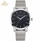 Kingsky женские часы ультра тонкий из нержавеющей стали кварцевые часы дамы повседневная часы браслет женские часы простые женские часы подарок