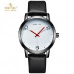 Kingsky мода простой женские наручные часы кожаный ремешок luxury brand дамы кварцевые часы часы мужчины montres femmes женские