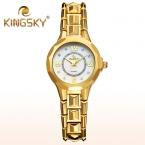 KingSky Марка Часы женщины роскошные группа кварцевые наручные часы повседневная мода спортивные relojes погружения 30 м reloj mujer relogio feminino