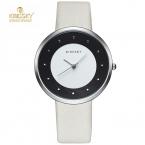 Kingsky женщин часы простой набор роскошные леди наручные часы натуральная кожа платье часы женщины кварцевые часы женщины relógio feminino