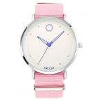 Kezzi известная марка женские часы мода простой кварцевые часы женщина ткань ремешок платье смотреть relogio feminino часы montre femme