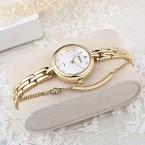 KEZZI женские наручные часы полный браслет из нержавеющей стали часы с полым указатель японский движение дамы кварцевые часы Reloj Mujer