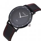 KEZZI Кожаный Ремешок Кварцевые Часы Мода Формальный Бизнес Аналоговый Япония Движение Водонепроницаемые Наручные Часы Для Мужчин