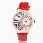 Kezzi марка женщины кварцевые часы с бриллиантами платье дамы случайные наручные часы роман dial кожаный часы relojes mujer montre femm