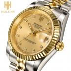 Качественные мужские наручные часы бизнес стиля. Произведены Holuns в  году. Механические, водонепроницаемые и из нержавеющей стали. Ограниченный выпуск.