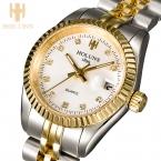 Кварцевые женские WRIS смотреть роскошная женская цвета розового золота нержавеющей стали женские часы водонепроницаемые часы для женщин часы с Часы инструменты