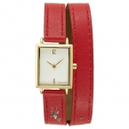 кварцевые часы женщины Лидирующий бренд часы для женщин Роскошные кожаный браслет Womenes Смотреть 30 м Водонепроницаемый спортивные наручные часы для девочек