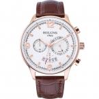 Мужской кожаный ремешок смотреть 22 мм Большой 24 часа циферблат Кварцевые часы Человек наручные часы мужские водонепроницаемые счетчик часы для мужчин /fc