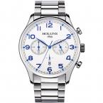 Holuns бренд мужской моде полный нержавеющей стали военные повседневные спортивные часы водонепроницаемые Relogio masculino кварцевые наручные часы распродажа