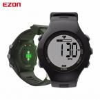 Ezon T043 оптический Сенсор монитор сердечного ритма шагомер, счетчик калорий цифровой спортивные часы powerd Philips носимых зондирования