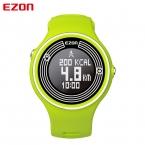 Ezon s1 многоцветная мужчины женщины спортивные часы bluetooth шагомер счетчик калорий цифровой работает часы для android ios