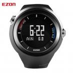 EZON GPS Трекер Открытый Запуск Bluetooth 4.0 Смарт-Цифровые Часы Шагомер Высотомер Термометр Спортивные Часы для IOS Android
