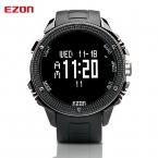 Известный бренд часы Ezon H501 туристические высотомер Компас Барометр большой циферблат спортивные часы для мужчин
