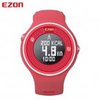 Ezon s1 шагомер смарт bluetooth мужчины женщины спортивные часы калорий отсчет цифровые часы запуск наручные часы для android ios