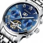 швейцарские механические часы мужские наручные сапфир Бингер Элитный бренд Водонепроницаемый часы мужские наручные сапфир часы B8601-5