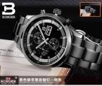 Швейцария мужские наручные часы binger бизнес кварц сапфир полный нержавеющей стали водостойкой relogio bg-0403