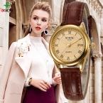 Женские модные повседневные часы 30 м Водонепроницаемый Элитный бренд Кварц женские часы подарок часы дамы Северной золото платье наручные часы женские