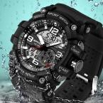 САНДА Военные Часы Мужчины Водонепроницаемый Спортивные Часы Для Мужские Часы Лучший Бренд Класса Люкс Часы Кемпинг Погружение relogio masculino 759