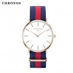 Бренд Chronos часы мужские и женские модные повседневные спортивные часы классические нейлон мужской кварцевые наручные часы Relogio feminino