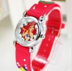 Доставка НОВЫЙ 3D Мультфильм дети Смотреть мило русалочка 1 шт./лот лучший подарок желе часы наручные часы