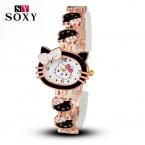 часы детские наручные часы наручные детские Часы детские  новый бренд привет китти мультфильм часы женщины дети одеваются кварцевые наручные часы для детей hellokitty часы милые девушки дизайнер
