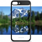 Для iPhone 7 Случае Полный Защитный ГАЛЬВАНИЧЕСКИХ ТПУ and Акриловые прозрачная Задняя Крышка iphone7 чехлы для iPhone 6 6 S 7 плюс