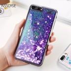Kisscase блеск зыбучие пески крышка для iPhone 7 6 6 S Plus солнце блесток телефона Чехлы для iPhone 6 6 S 7 5 5S SE силиконовой оболочки