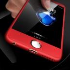 Floveme 360 полный охват тела чехол для iPhone 7 Plus iPhone 6 6 S плюс крышка Экран протектор Закаленное Стекло для iPhone 7 6 plus