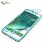 Kisscase для iPhone 7 Plus новые Карамельный Цвет Мягкие TPU ультра флип чехол для Apple iPhone 6/6 S плюс прозрачная крышка
