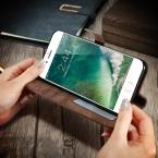 Kisscase Роскошные Флип кожаный чехол Слот для карты фоторамка стенд оригинальный телефон Обложка для Apple iPhone 7 Plus; iPhone 6 6 S плюс