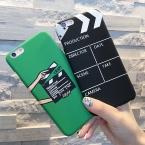 Мода Прохладный Чехол Для Iphone 5 5S SE 6 6 S 7 7 плюс Жесткий Матовая Крышка Фильм поддоны Pattern Телефон Задняя Крышка Коке YC1944