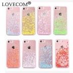 Lovecom свежий любовь сердца блеск звезд динамический жидкость зыбучие пески Жесткий PC телефон задняя крышка для iPhone 5 5S SE 5C 6 6 S 7 Plus