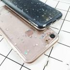Bling Блеск Прозрачный Мягкие TPU Аргументы За Телефона iPhone 5 5S SE 6 6 S 7 Плюс Сверкающие Звезды Сверкающих Ясно Телефон Обратно случае