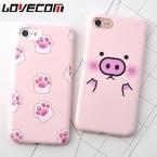 Мультфильм милый розовый свиней Мягкие TPU телефон задняя крышка для iPhone 7 для iPhone 6 6 S 7 Plus Мобильный телефон Сумки и чехлы YC2060