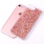 Lovecom динамически жидкостное блеск красочный блестка песок плывун твердый переплет телефон case для iphone 4s 5 5c 5s se 6 6s 7 плюс