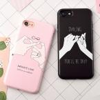 Для влюбленных Мягкий ТПУ Телефон задняя крышка для iPhone 7 7 Plus Forever Love мобильный телефон Сумки и чехлы для iPhone 6 6 S плюс 7 7 Plus