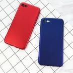 Lovecom телефона чехол для iPhone 5 5S SE 6 6 S 7 Plus Роскошные китайские красные Мягкая лакированная кожа ТПУ сплошной цвет телефона задняя крышка случаях