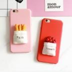 NEW мода DIY 3D Помидор И Боль Тупая Польского Жесткий PC Задняя Крышка Телефона чехол Для iPhone 7 Для iPhone 5 5S SE 6 6 S 7 Плюс YC