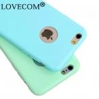 Высококачественные шлепанцы; горячая Распродажа ярких цветов Мягкие TPU телефон задняя Чехлы для iPhone SE 5 5S 6 6 S 7 Plus Coque с логотип окна аксессуары