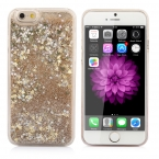 Lovecom с сияющими блестками красочные динамический Quick S и Звезда Жидкость Твердый Переплет Ясно case для iphone 4 4S 5 5S SE 5C 6 6 S 7 plu s