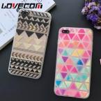 Роскошные красочные любящее квилтинга шелковое Мягкие TPU телефон задняя крышка для iPhone 7 для iPhone 5 5S SE 6 6 s 7 Plus Капа Fundas Лидер продаж
