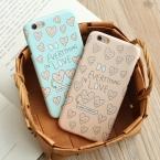 Lovecom модные милые любовь сердца со смайликом Матовая Жесткий корпус телефона случаи задняя крышка для iPhone 5 5S se 6 6 S 7 Plus