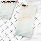 Lovecom моды гранита скраб коралловый мрамор телефон чехлы для iPhone 6 6 S Plus 7 7 плюс мягкая IMD Coque принципиально Капа Para YC1992