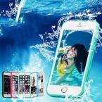 LOVECOM Всего Тела Водонепроницаемый Излучающих Противоударный ТПУ Случае Покрытия Для iPhone 6 6 S 7 Плюс Плавание Телефон Случае Протектор