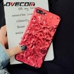 Lovecom чехол для телефона iPhone 6 6 S 7 плюс роскошный 3D Tinfoil гальваническим Мягкие TPU телефон задняя крышка случаях Китай красный прибытие