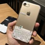 Новые Смешные Чат клавиатура интерфейс Телефона Чехол для iPhone 6 6 S 6 плюс 7 7 плюс Мягкий ТПУ Прозрачный Телефон Задняя Крышка Coque