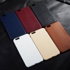 Роскошные мягкие кожаные стежки Телефон задняя крышка для iPhone 5 5S SE 6 6 S Plus телефон чехол для Samsung Galaxy S7/S7 край